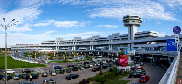 National airport Minsk