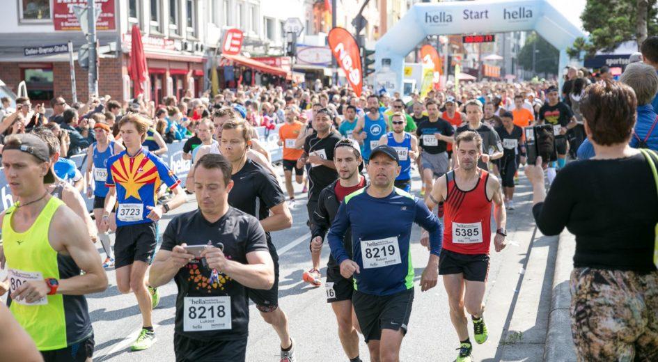 Полумарафон в Гамбурге Hamburg half marathon 2018