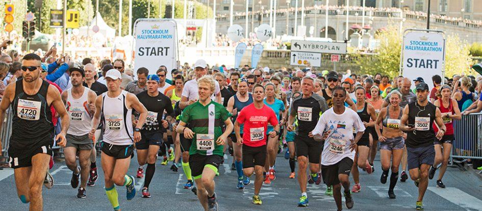 Stockholm half marathon 2018