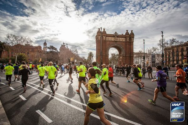 Полумарафон в Барселоне 2018