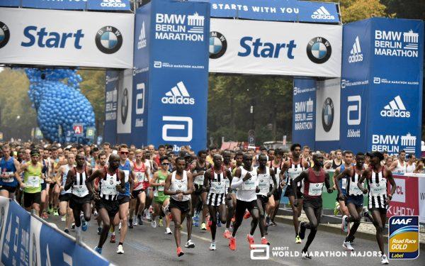 Старт Берлинского марафона (BMW Berlin-Marathon)