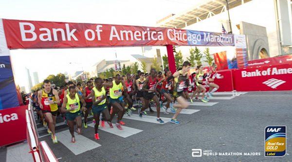 Чикагский марафон 2020 Bank of America Chicago marathon 2020