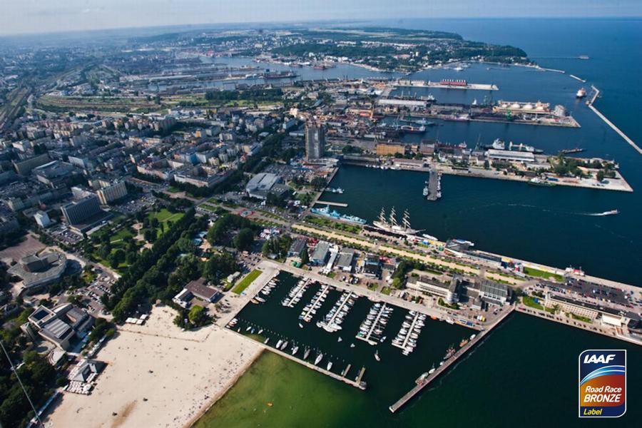 Полумарафон в Гдыне 2018 ONICO Gdynia Półmaraton