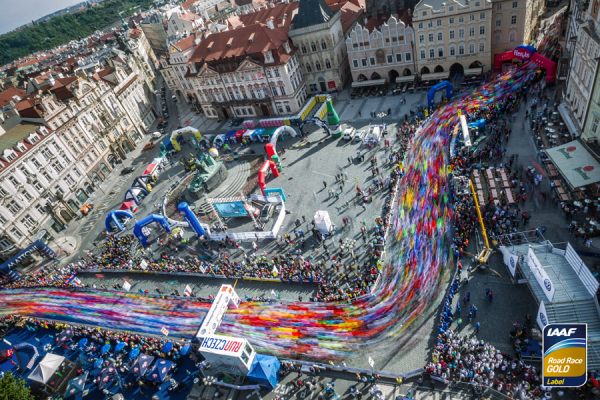 Volkswagen Prague marathon 2018