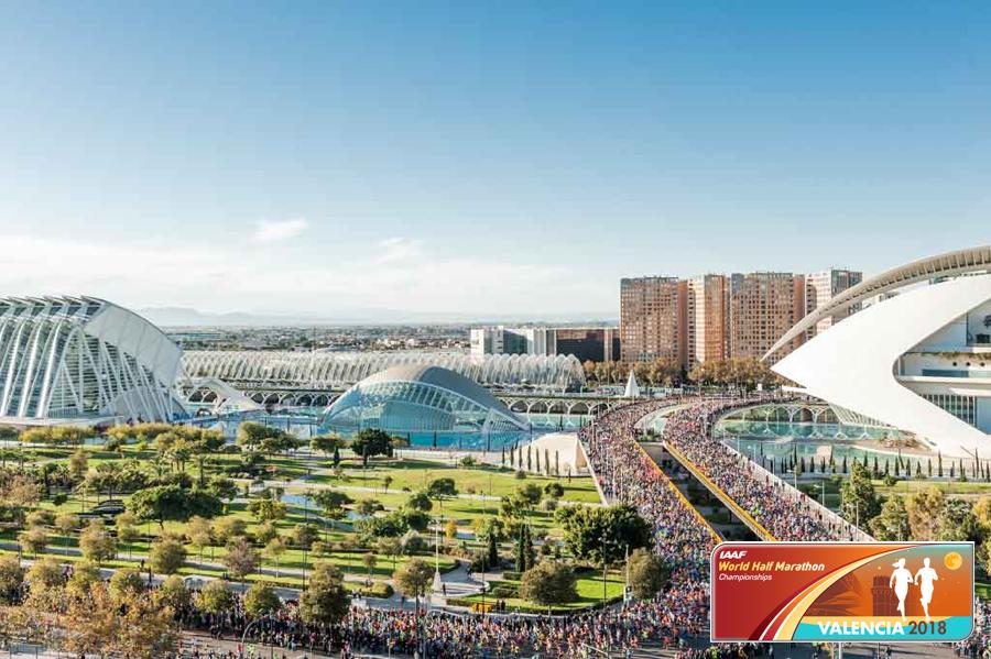 Чемпионат мира на полумарафонской дистанции в Валенсии 2018