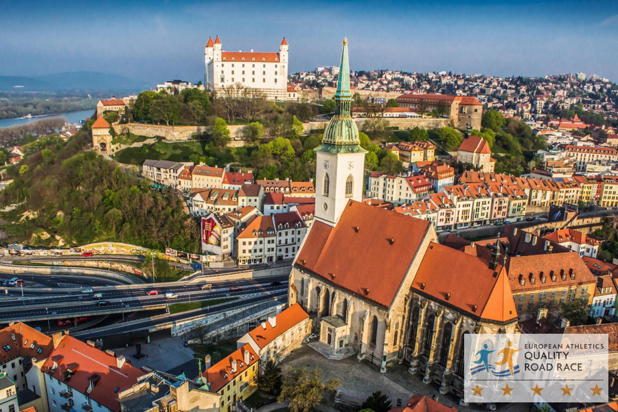 Bratislava marathon and half marathon 2018