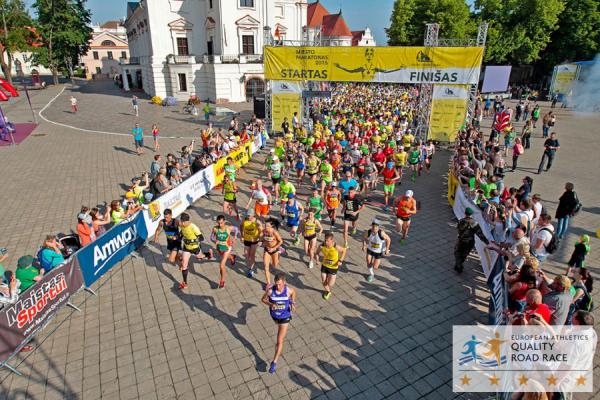 Марафон в Каунасе 2018