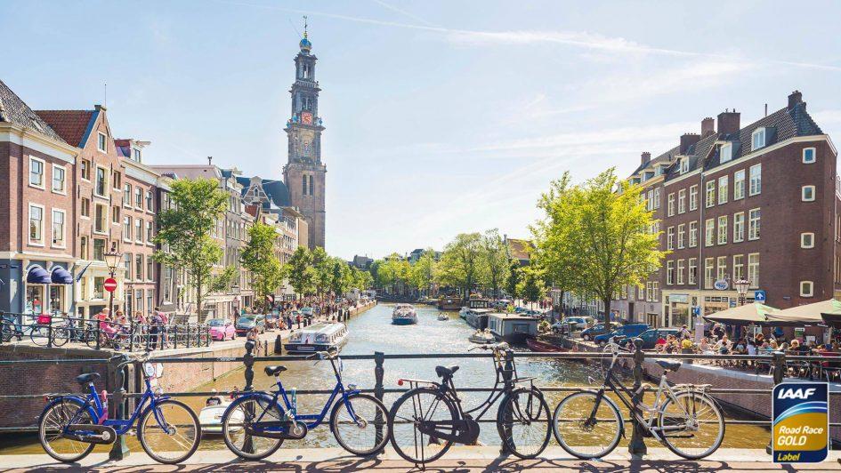 Марафон в Амстердаме 2018