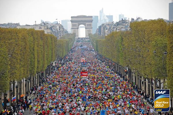 Парижский марафон 2019