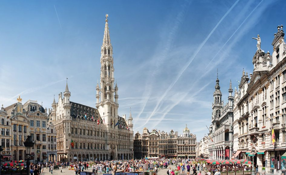 Марафон и полумарафон в Брюсселе 2018