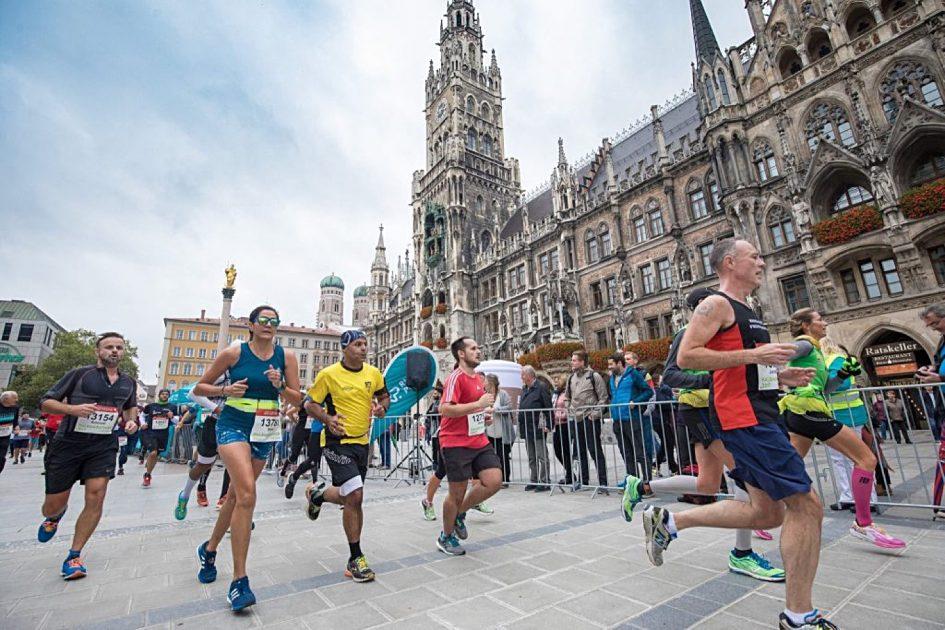 Мюнхен марафон и полумарафон 2018