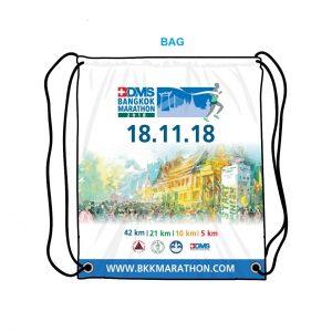 Рюкзак из стартового пакета Бангкокского марафона 2018 (BDMS Bangkok Marathon)