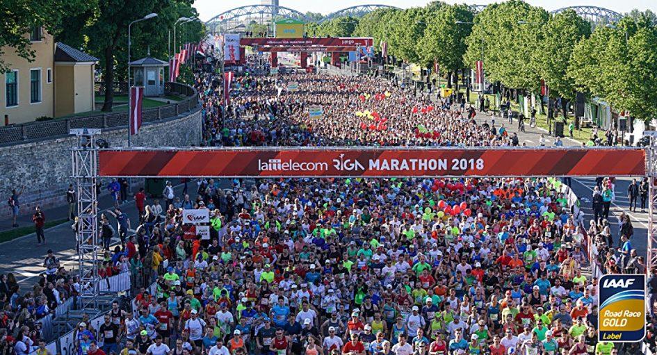 Рижский марафон и полумарафон (Lattelecom Rīgas maratons) 2019