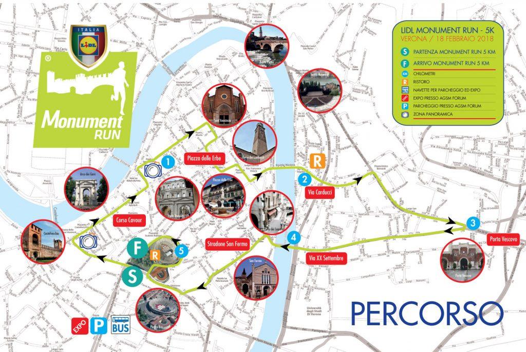 Карта забега на 5 км (Gensan Giulietta&Romeo Half Marathon) 2019