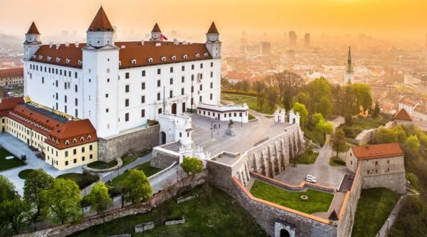 Братиславский марафон и полумарафон (ČSOB Bratislava Marathon) 2019