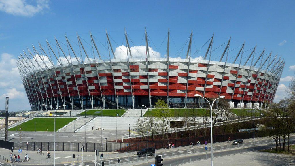 Национальный стадион (PGE Narodowy) в Варшаве