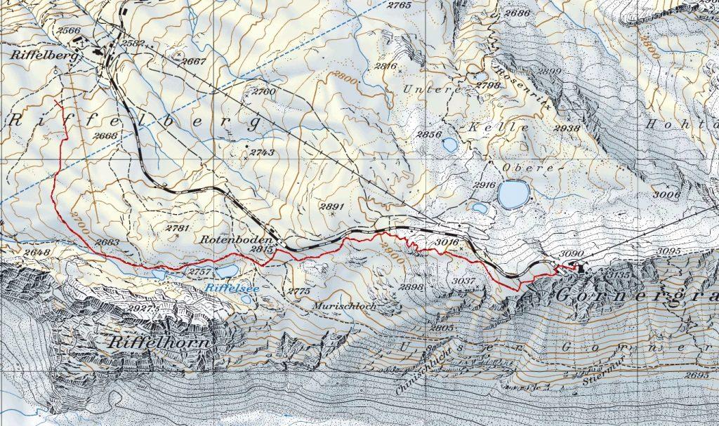 Финальные 3,4 км ультрамарафона (Ultra Zermatt Marathon) 2021