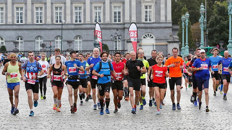 Пейсмейкеры на Брюссельском марафоне и полумарафоне (Brussels Airport Marathon & Half Marathon)