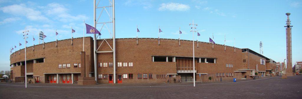Олимпийский стадион, построенный к Олимпийским играм 1928
