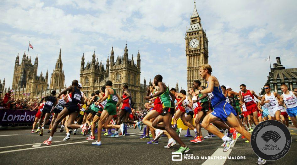 Лондонский марафон (Virgin Money London Marathon). Лондон, Великобритания