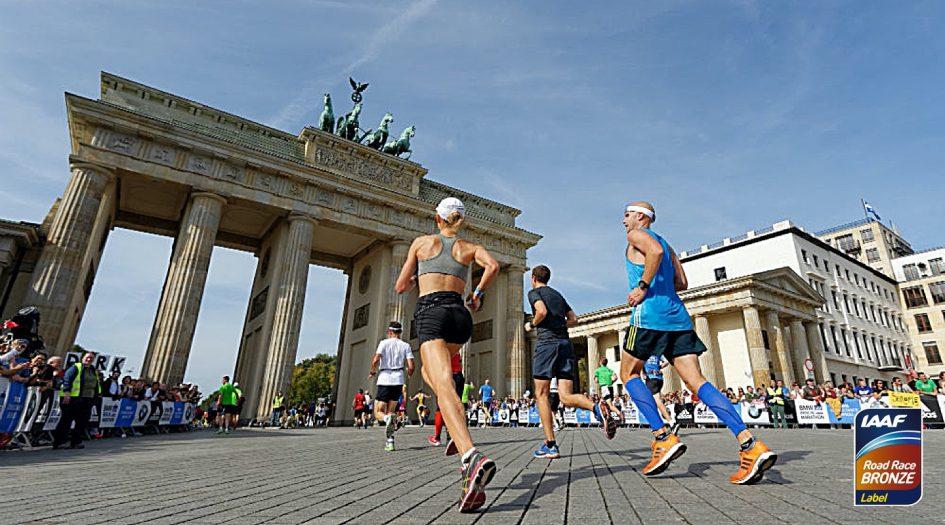 Берлинский полумарафон (Generali Berliner Halbmarathon) 2020. Берлин, Германия. Апрель 2020