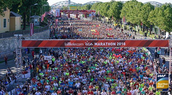 30-й Рижский марафон (Rimi Riga Marathon, Rimi Rīgas maratons) и полумарафон 2020
