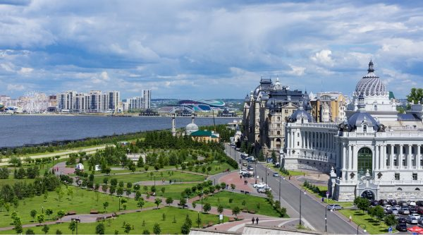 Казанский марафон (АК БАРС Банк Казанский марафон) и полумарафон