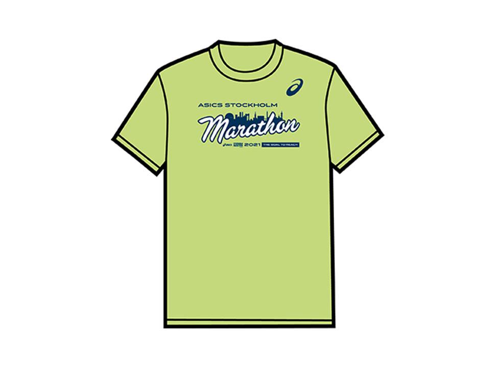 Фирменная футболка Стокгольмского марафона (ASICS Stockholm Marathon) 2021