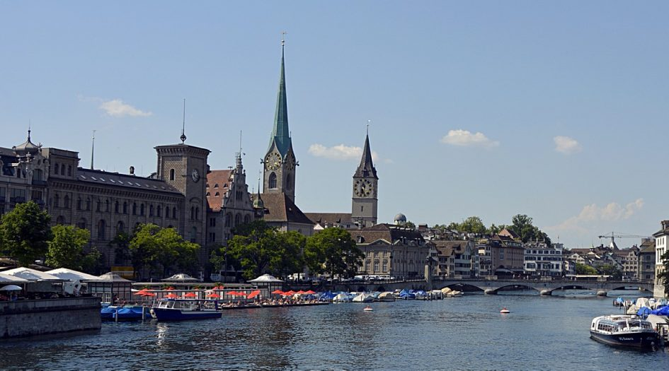 Новогодний цюрихский марафон и полумарафон (Neujahrsmarathon Zürich)