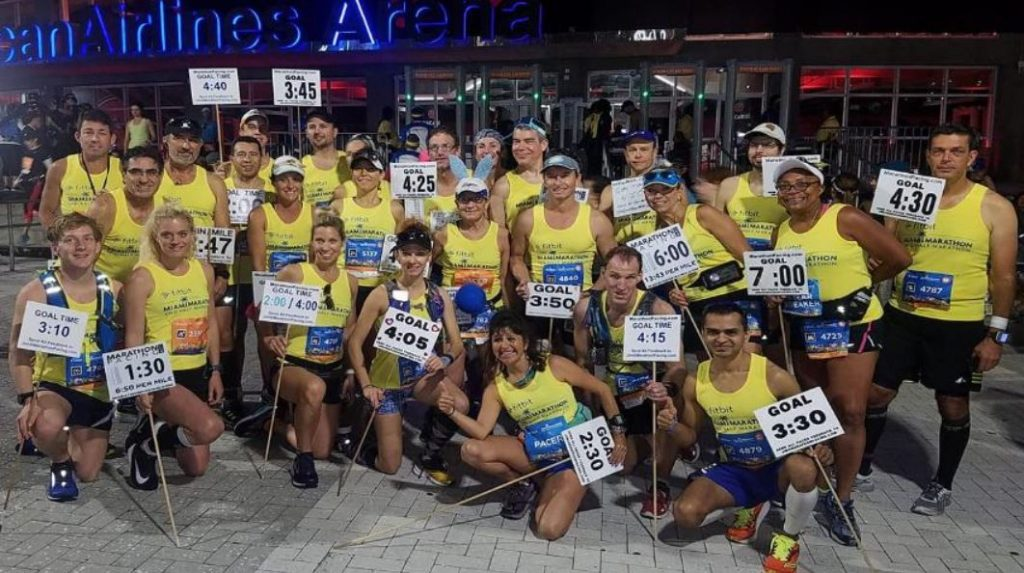 Pace makers of the Miami Marathon and Half Marathon (Life Time Miami Marathon and Half Marathon presented by cbdMD)