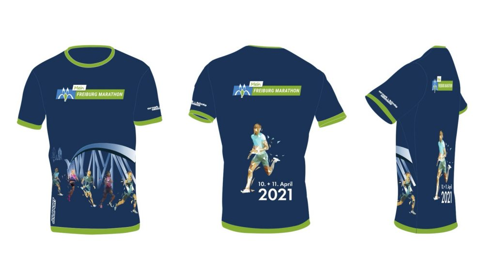 Race T-shirt of the Freiburg Marathon (MEIN FREIBURG MARATHON) 2021