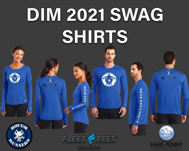 Long sleeve of the Fleet Feet Daufuskie Island Marathon 2021